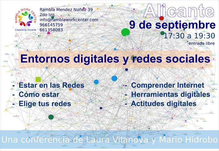 Entornos digitales y redes sociales 9 septiembre 700x400